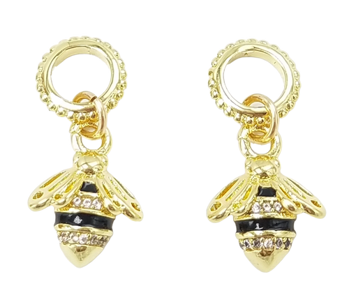 Gold Bee Charms