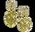 Gold Shield Charms II