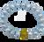 Grey Freshwater Pearl and Brass CZ Stress Bracelet