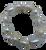 White Baroque Pearls on Stretch Bracelet