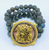 Three Strand Labradorite Bracelet with Spinelli Crest