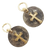 Rustic Cross Charms