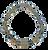 Smokey Quartz and CZ Cylinder Stretch Bracelet
