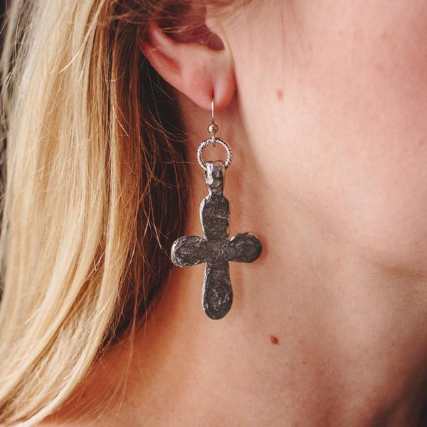 Cross Earrings