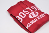 Boston 1630 Hoodie in Black size small to x-large