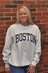 BOSTON CREW HEATHER GRAY
