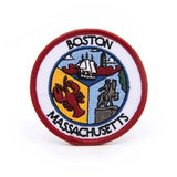 BOSTON COLLAGE PATCH