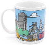 BOSTON COLLAGE MUG
