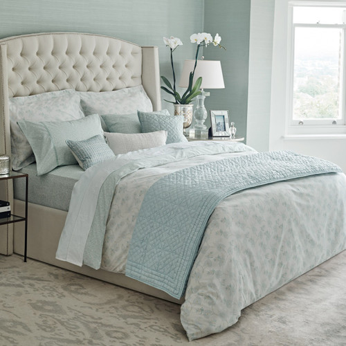 Fable Eram Bedding in Duck Egg