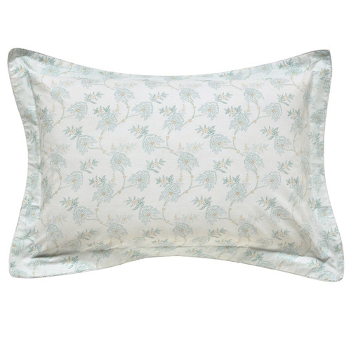 Fable Eram Oxford Pillowcase In Duck Egg