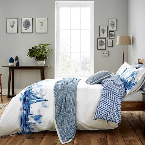 Joules Sailing Boats Bedding In Blue
