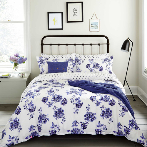 Joules Inky Chinoiserie Bedding Floral