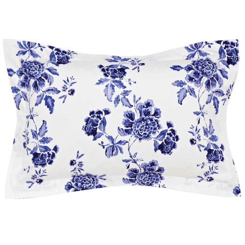 Joules Inky Chinoiserie Oxford Pillowcase