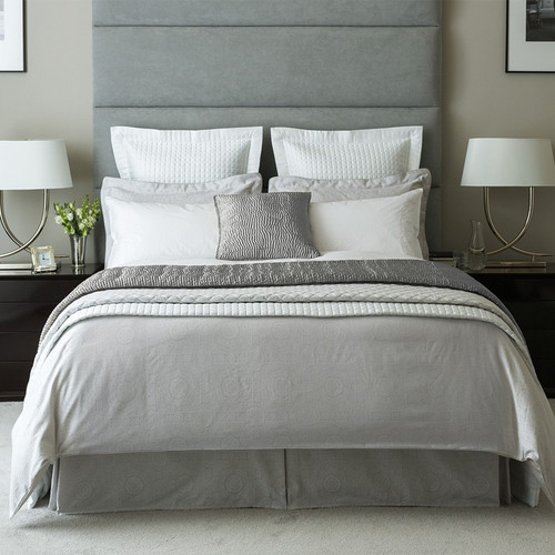 Fable Beaumont Duvet Cover in Silver