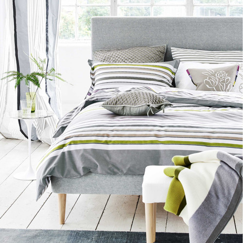 Designers Guild Astrakhan Duvet Cover in Dove