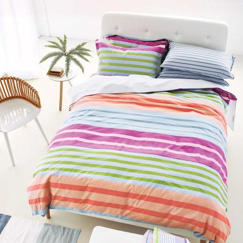 Designers Guild Hiranya Bedding in Graphite