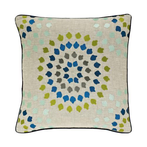 Harlequin Bahia Embroidered Cushion