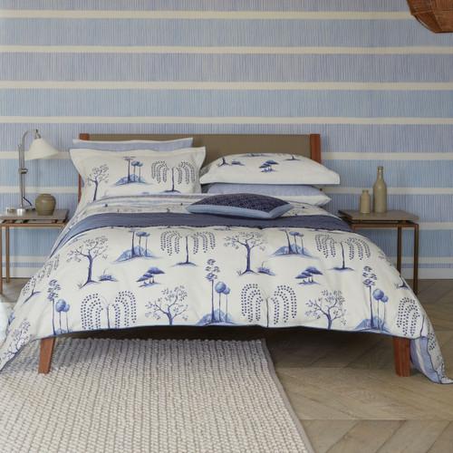 Sanderson Willow Tree Bedding in Blue