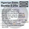 Baader Hyperion Zoom 2.25X Barlow-4