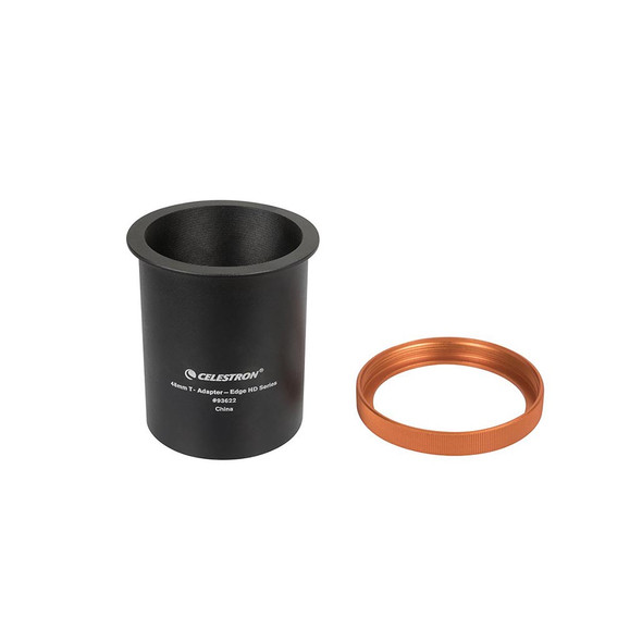 """Celestron 48mm T-Adapter for EdgeHD 9.25"""" - 11"""" - and 14"""" (93622) 1"""