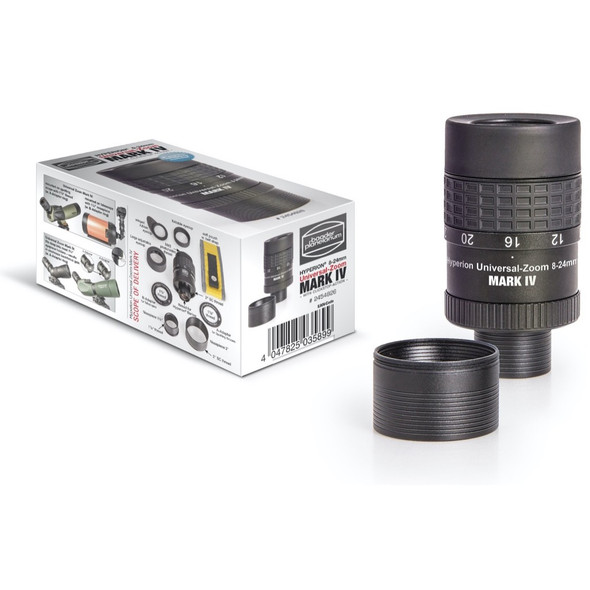 """Baader Hyperion Universal Zoom Mark IV 8-24mm - 1.25""""/2""""-1"""