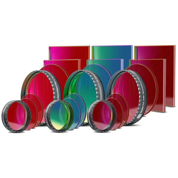 Baader Narrowband Filter Set - H-a 7nm/OIII 8.5nm/SII 8nm-1