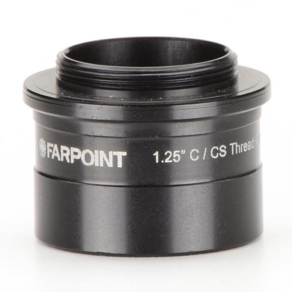 """Farpoint 1.25"""" Nosepiece-to-C/CS Mount Male Adapter-1"""