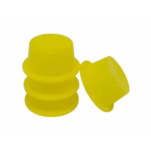 "Lumicon 4 Pieces Yellow Dust Plug - 1.25""-1"