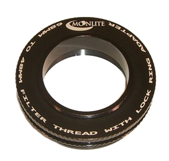 """Moonlite 2.5"""" M68x1 to 48mm filter Thread with Lock Ring Adapter"""