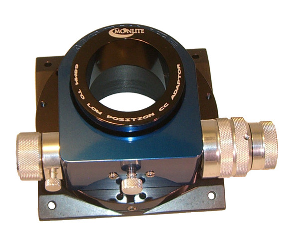 """Moonlite 2.5"""" M68x1 to low position 2"""" smooth bore Coma corrector Adapter"""
