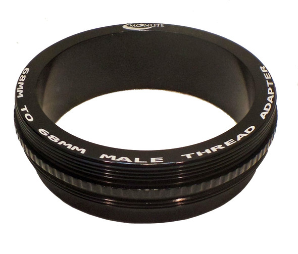 """Moonlite 2.5"""" M68x1 to male M68x1 Adapter"""