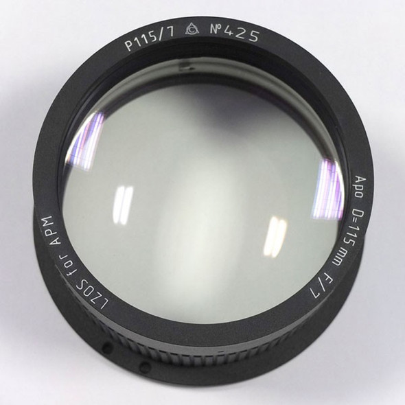 APM LZOS 115mm F/7 Triplet APO Refractor - Lens in Cell-1