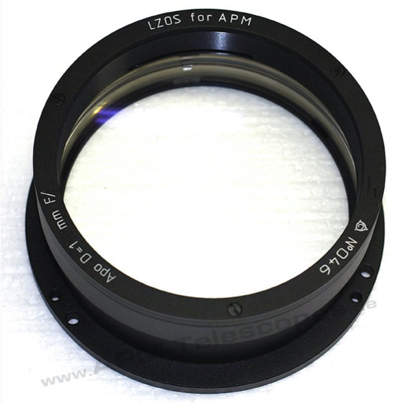 APM LZOS 123mm F/6 Triplet APO Refractor - Lens in Cell-1