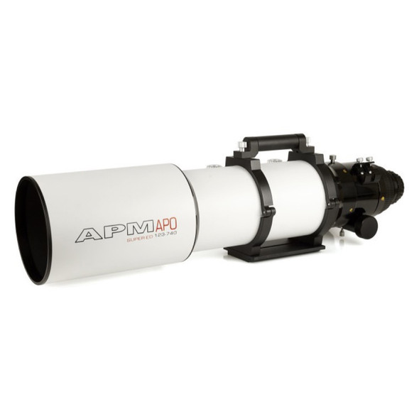 "APM LZOS 123mm F/6 Triplet APO Refractor - 3.5"" Feather Touch-1"