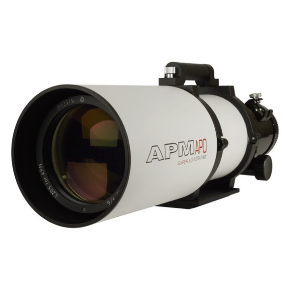 "APM LZOS 123mm F/6 Triplet APO Refractor - 3.5"" Feather Touch-2"