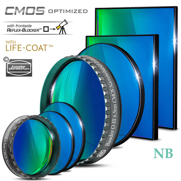 Baader 6.5nm OIII Filter - CMOS-Optimized