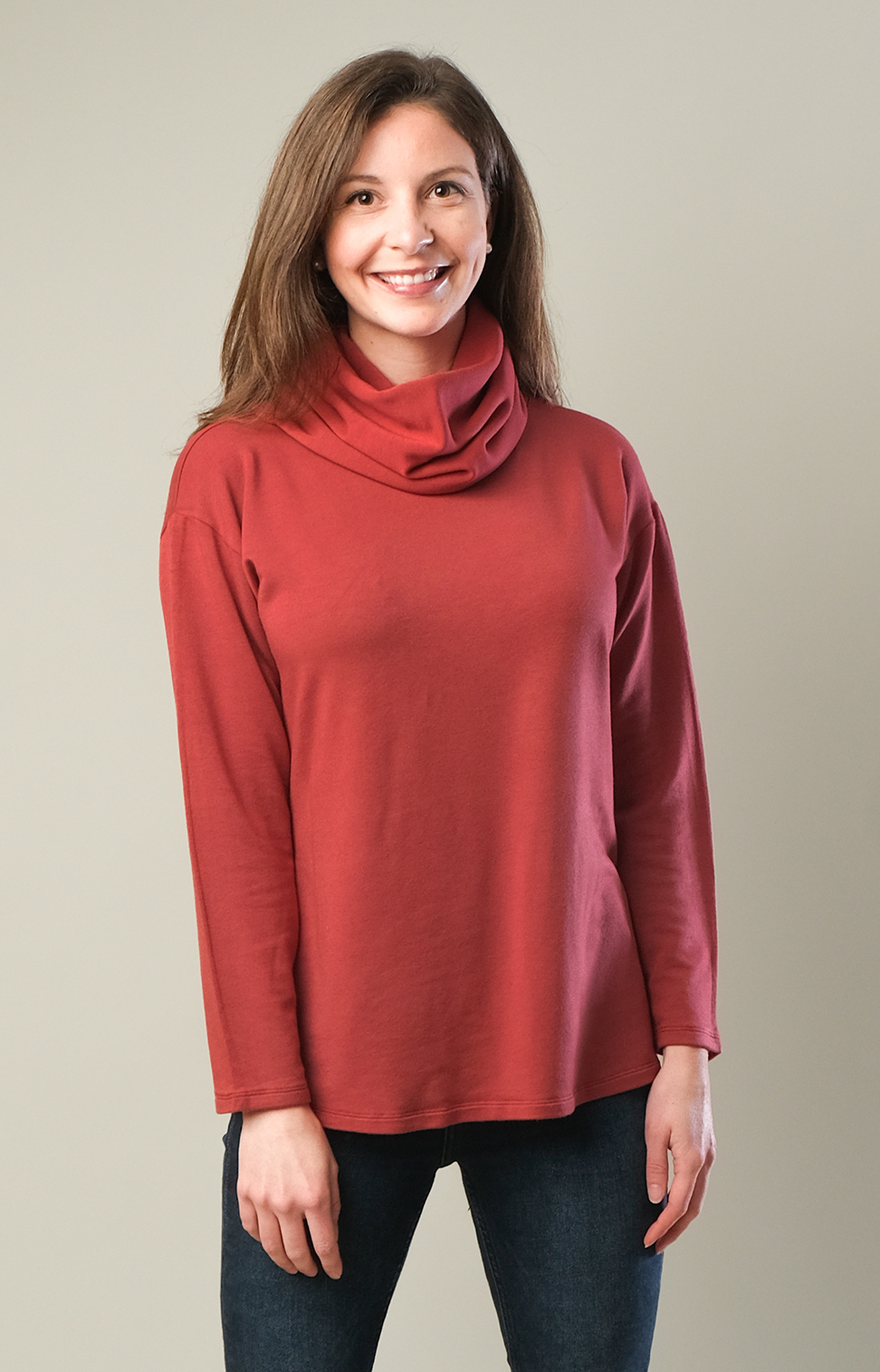 Garment-Dyed Natural Fit Cowl