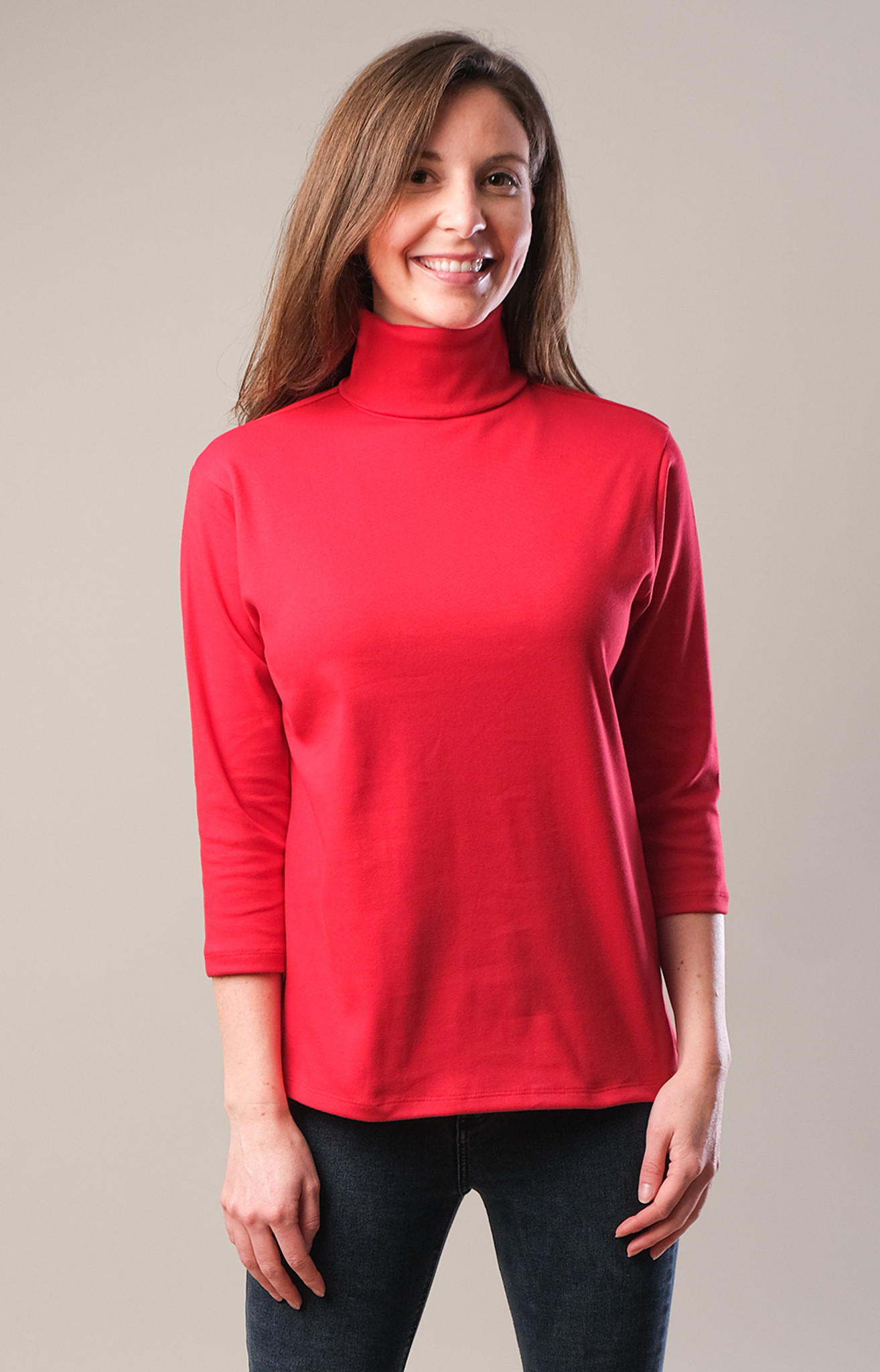 Easy Fit Turtle Neck