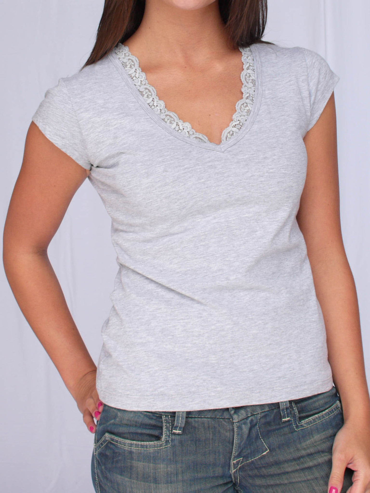 Jersey Lace Tee