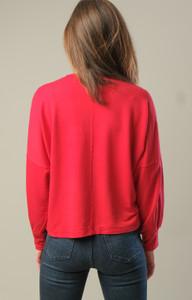 Garment-Dyed Boxy Sweatshirt