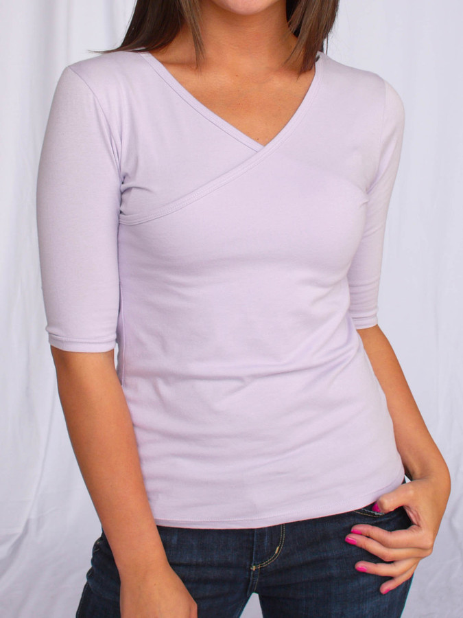 Jersey Wrap Tee