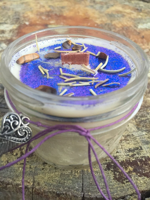 Empath essential oil candle