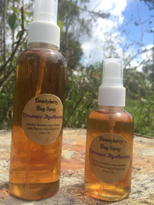 Beautyberry bug spray- all natural, chemical free insect repellant