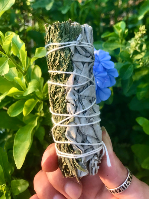 Cedar and White Sage bundle