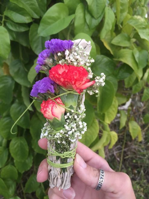 Spring Renewal smudge bundle