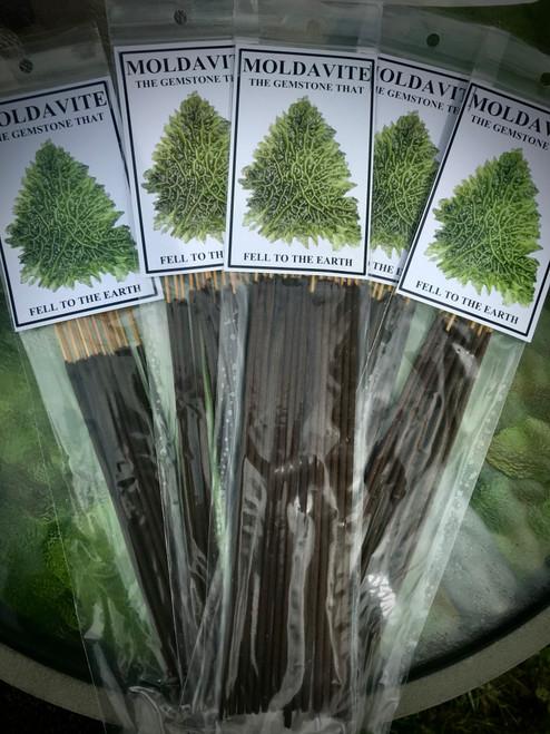 Moldavite incense
