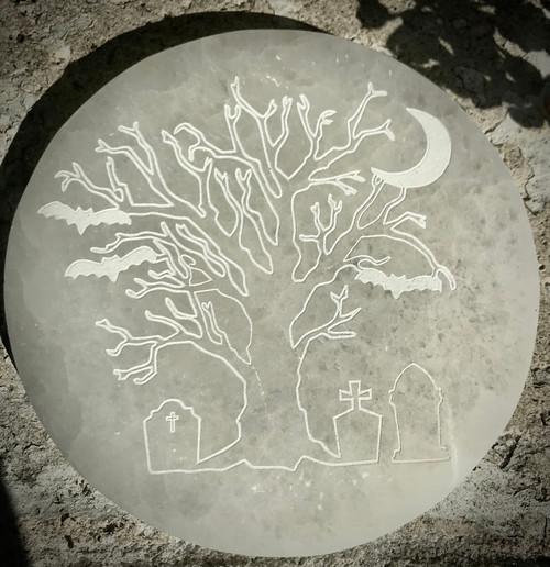 Graveyard Tree Selenite Plates
