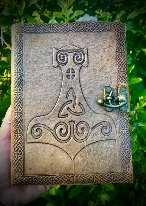 Mjollnir Leather Journal