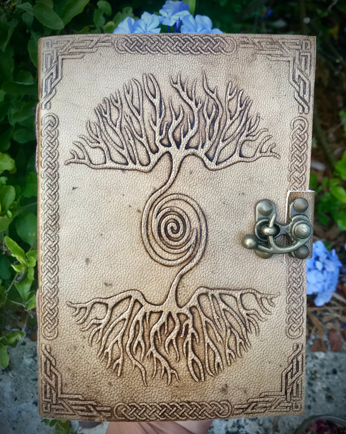 As Above So Below Leather Journal