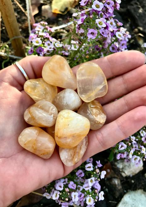 Golden Healer Quartz Tumbles